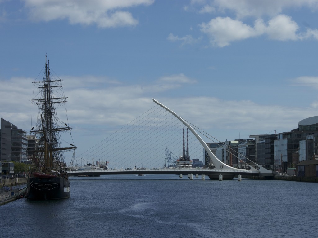 Dublin Beckett Bridge