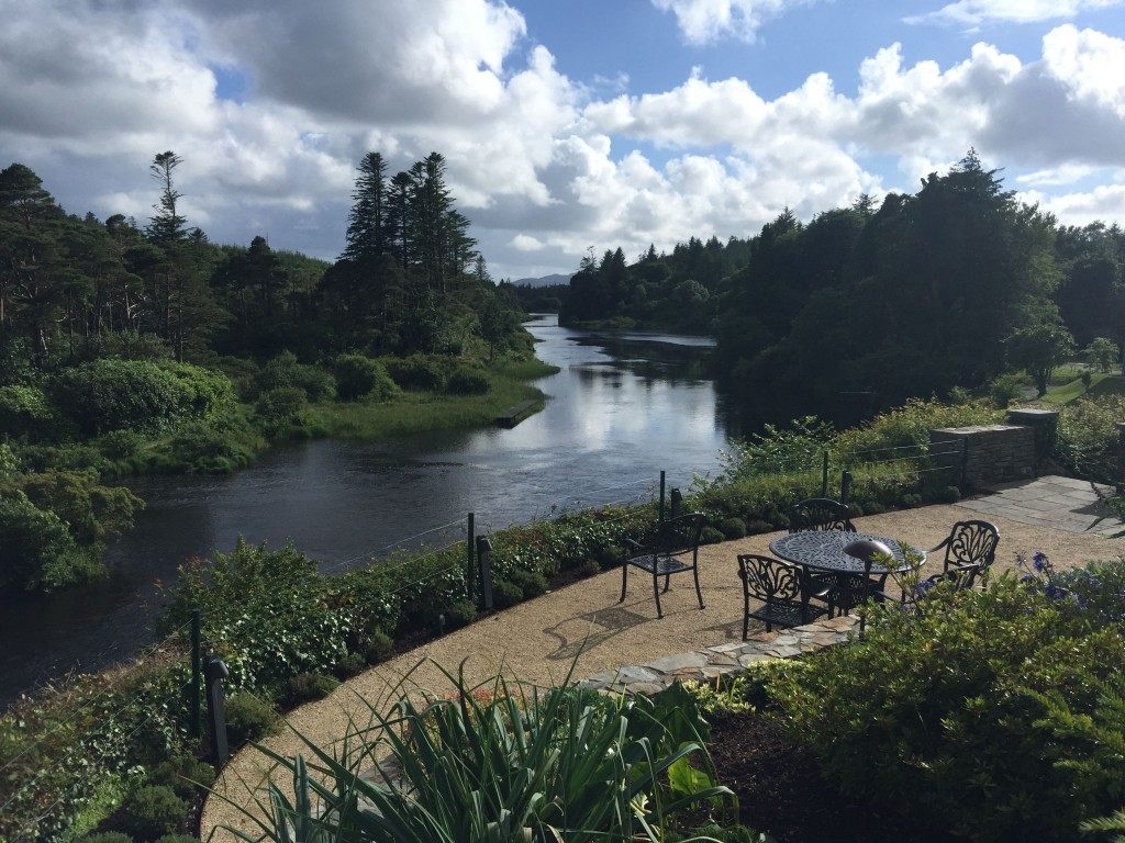 Ballynahinch Castle View