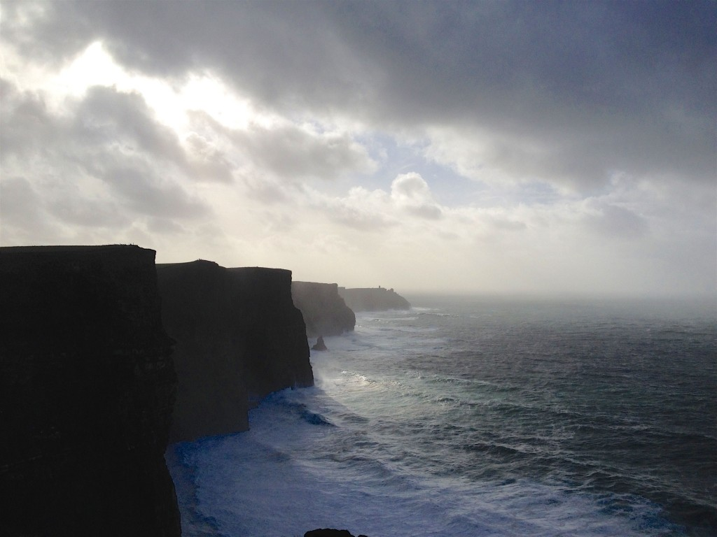 Cliffs of Moher at dawn