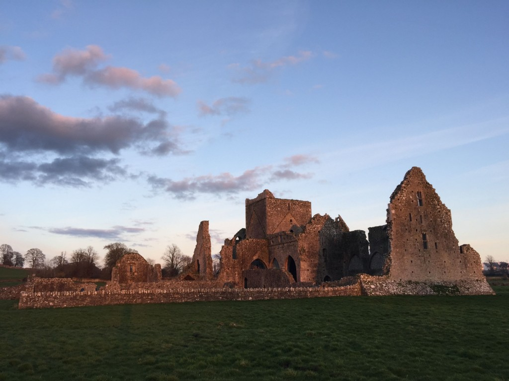 Hore Abbey dawn